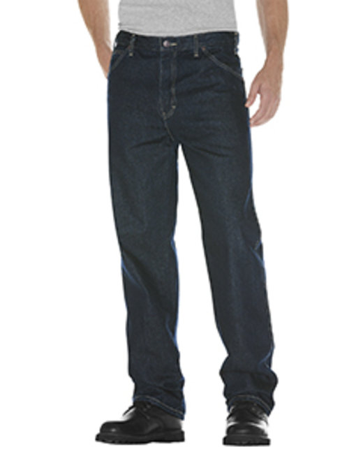 Dickies Unisex Relaxed Straight Fit 5-Pocket Denim Jean Pant - Tnt Hrt Khaki  32
