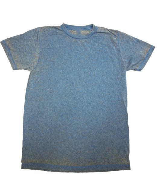 Tie-Dye Adult Acid Wash T-Shirt - Pacific Blue