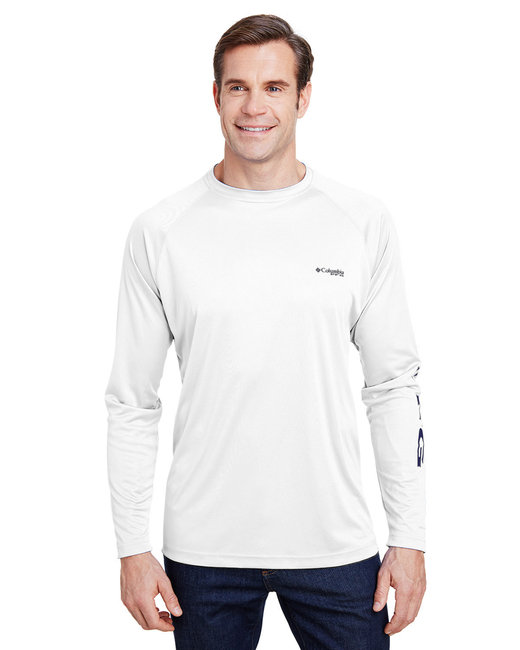 Columbia Terminal Tackle™ Long-Sleeve T-Shirt - White