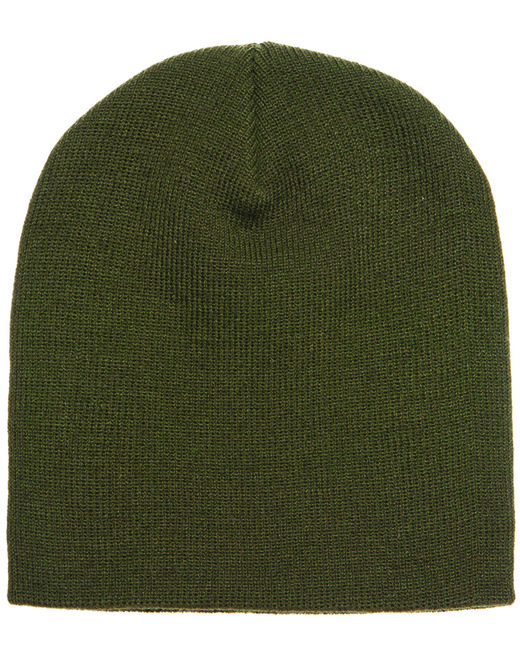 Yupoong Adult Knit Beanie - Olive