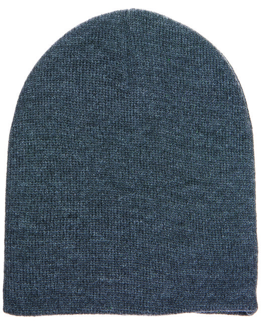 Yupoong Adult Knit Beanie - Charcoal