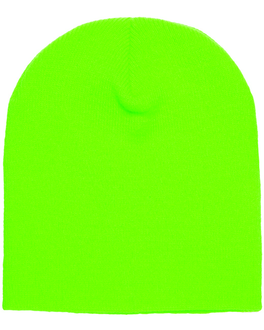 Yupoong Adult Knit Beanie - Safety Green