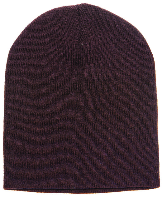 Yupoong Adult Knit Beanie - Brown