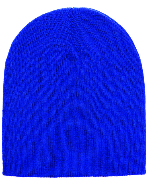 Yupoong Adult Knit Beanie - Royal