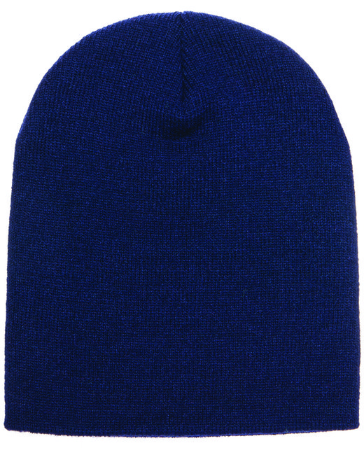 Yupoong Adult Knit Beanie - Navy