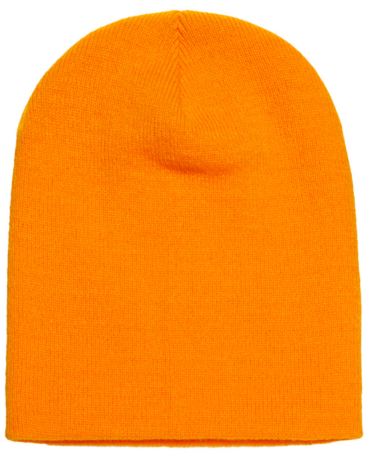 Yupoong Adult Knit Beanie - Gold