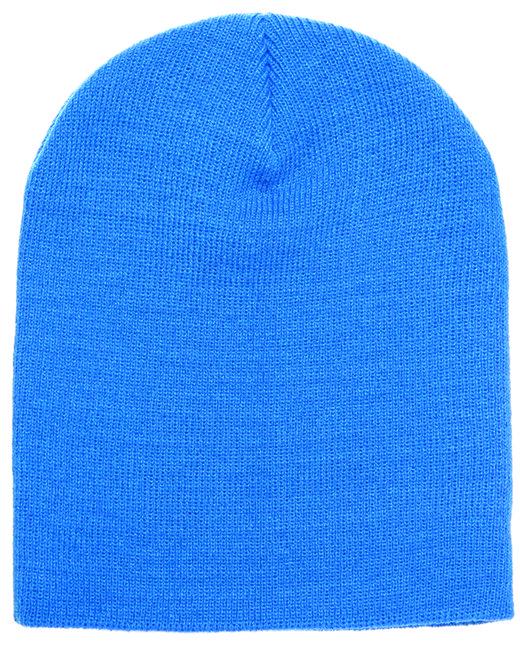 Yupoong Adult Knit Beanie - Carolina Blue