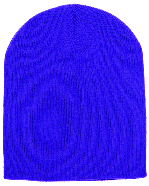 Yupoong Adult Knit Beanie - Purple