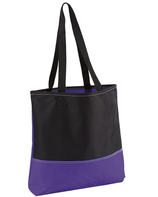 Gemline Prelude Convention Tote - Purple