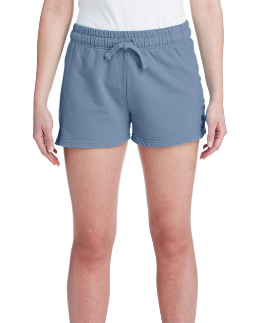 Comfort Colors Ladies' French Terry Short - Blue Jean