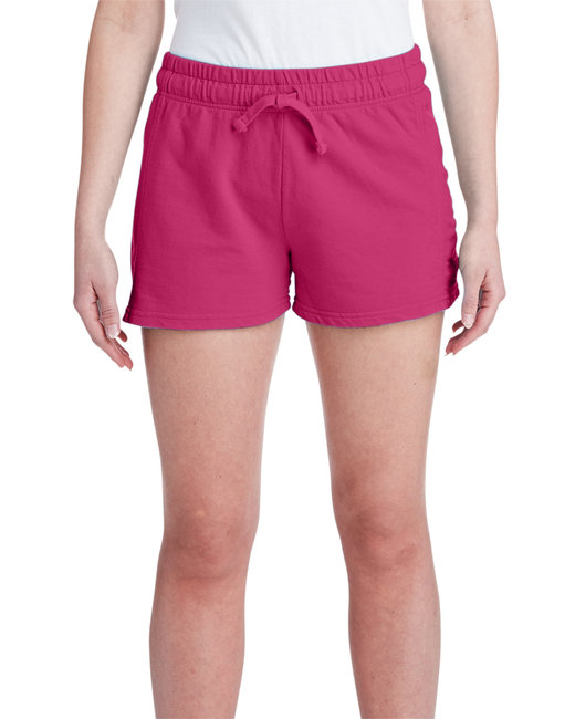 Comfort Colors Ladies' French Terry Short - Crimson