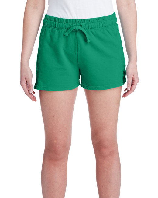 Comfort Colors Ladies' French Terry Short - Grass