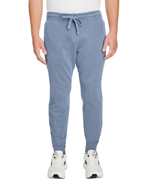 Comfort Colors Adult French Terry Jogger Pant - Blue Jean