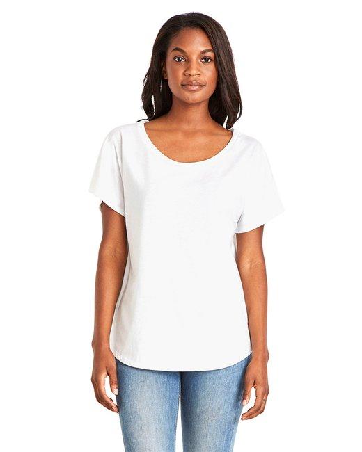 Next Level Ladies' Ideal Dolman - White