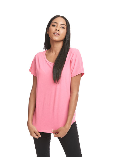 Next Level Ladies' Ideal Dolman - Hot Pink