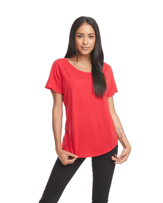 Next Level Ladies' Ideal Dolman - Red