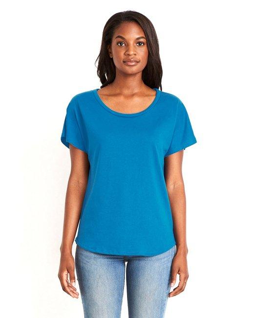 Next Level Ladies' Ideal Dolman - Turquoise