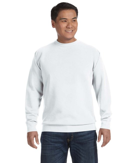 Comfort Colors Adult Crewneck Sweatshirt - White