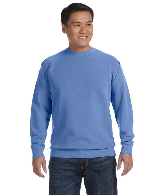 Comfort Colors Adult Crewneck Sweatshirt - Flo Blue