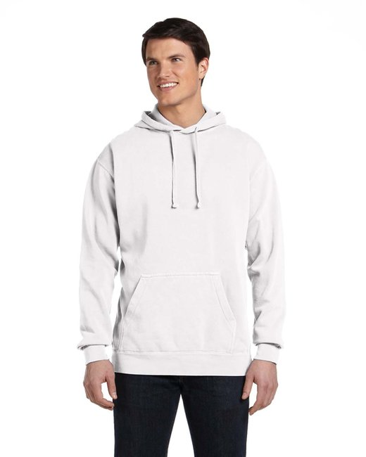 Comfort Colors Adult Hooded Sweatshirt - White