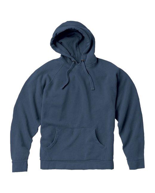Comfort Colors Adult Hooded Sweatshirt - Blue Jean