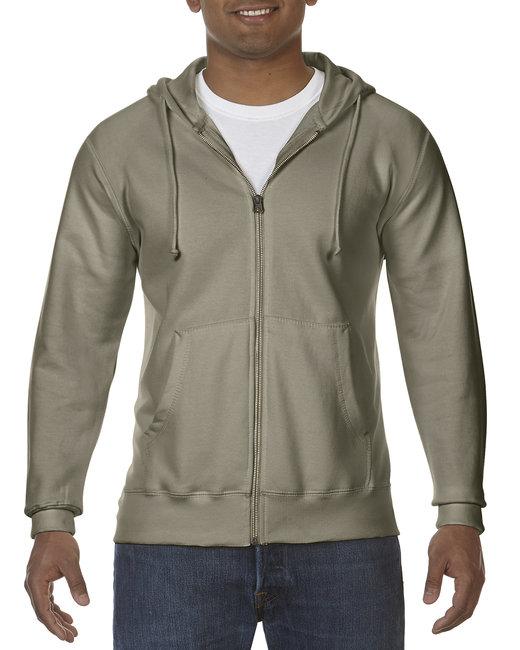 Comfort Colors Adult Full-Zip Hooded Sweatshirt - Sandstone