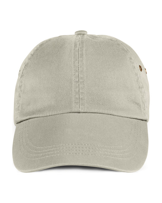 Anvil Adult Solid Low-Profile Twill Cap - Wheat