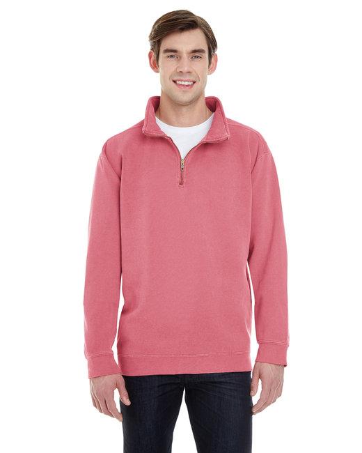 Comfort Colors Adult Quarter-Zip Sweatshirt - Crimson