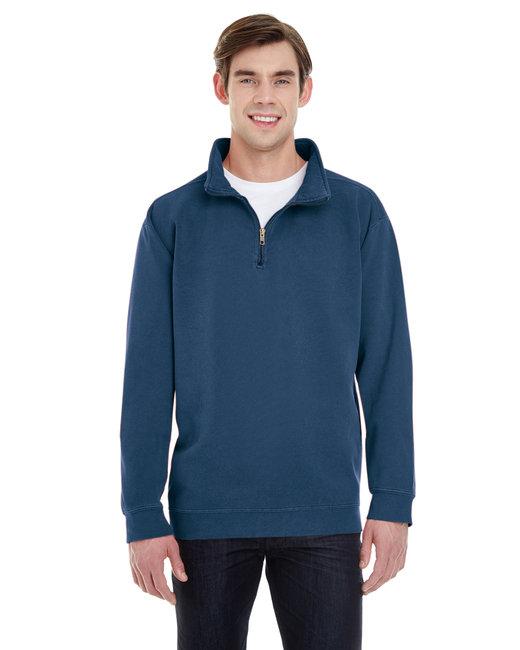 Comfort Colors Adult Quarter-Zip Sweatshirt - True Navy