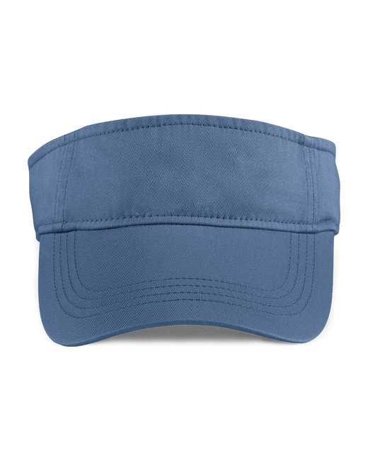 Anvil Adult Solid Low-Profile TwillVisor - Navy