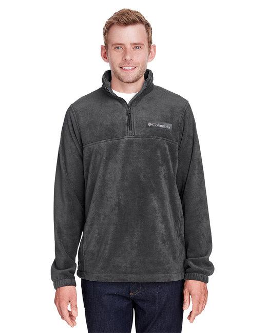 Columbia Men's Steens Mountain™ Half-Zip Fleece Jacket - Charcoal Heather