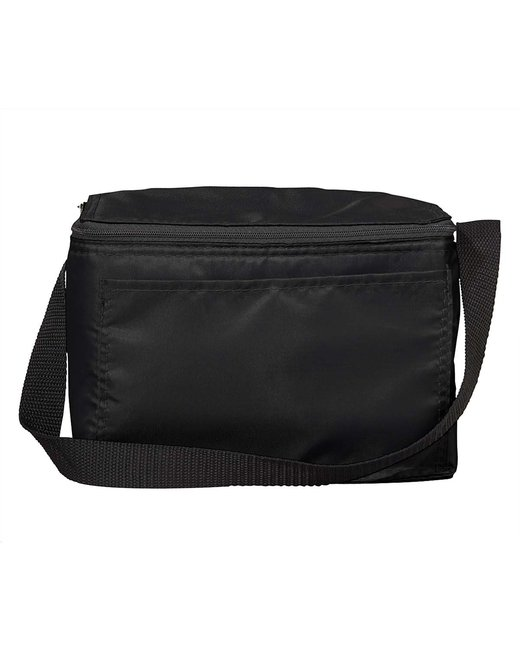 Liberty Bags Value 6-Pack Cooler - Black
