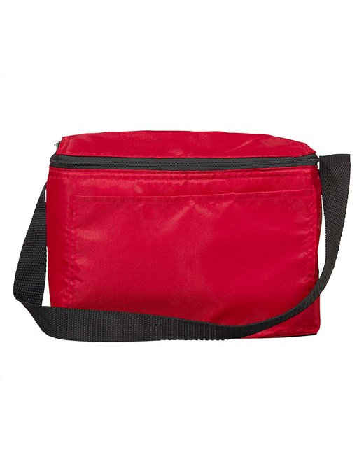 Liberty Bags Value 6-Pack Cooler - Red