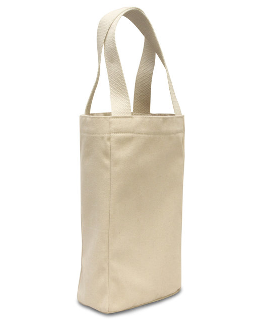 Liberty Bags Double Bottle Wine Tote - Natural