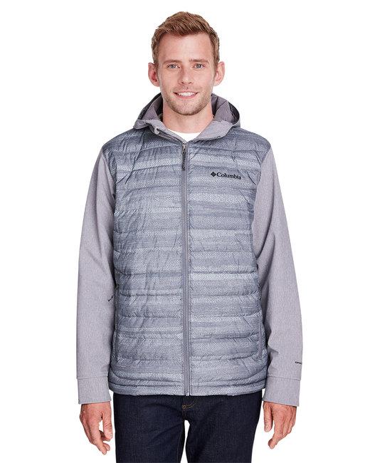 Columbia Men's Powder Lite™ Hybrid Jacket - Cty Gry Hth Prnt