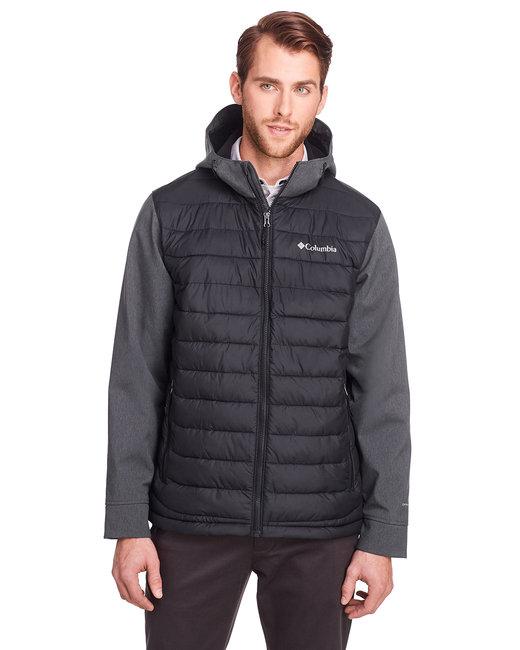 Columbia Men's Powder Lite™ Hybrid Jacket - Black/ Blk Hthr