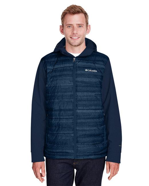 Columbia Men's Powder Lite™ Hybrid Jacket - Cl Nvy Ht St Prt