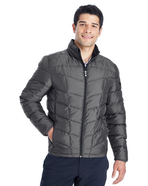 Spyder Men's Pelmo Insulated Puffer Jacket - Polar/ Black