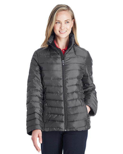 Spyder Ladies' Supreme Insulated Puffer Jacket - Polar/ Alloy