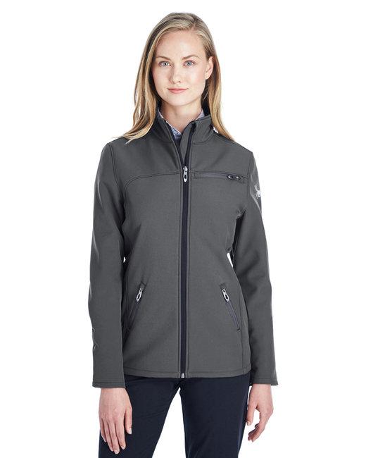 Spyder Ladies' Transport Soft Shell Jacket - Polar / White