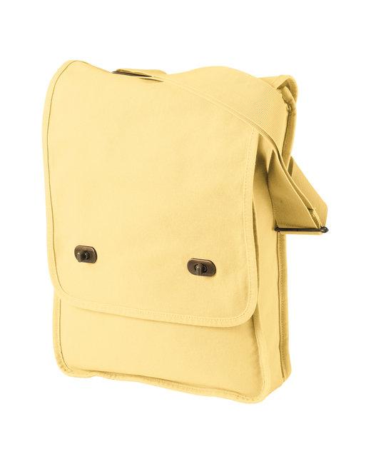 Authentic Pigment 14 oz. Pigment-Dyed Canvas Field Bag - Goldenrod