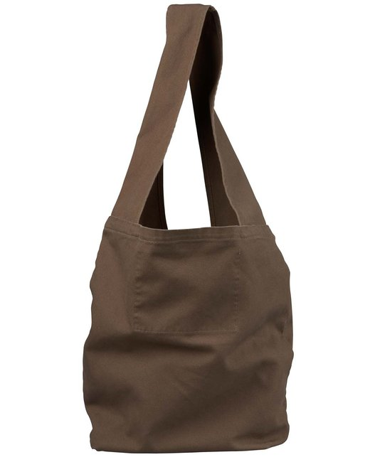 Authentic Pigment 12 oz. Direct-Dyed Sling Bag - Java