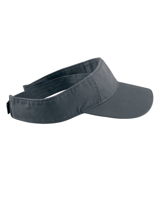 Authentic Pigment Direct-Dyed Twill Visor - Black