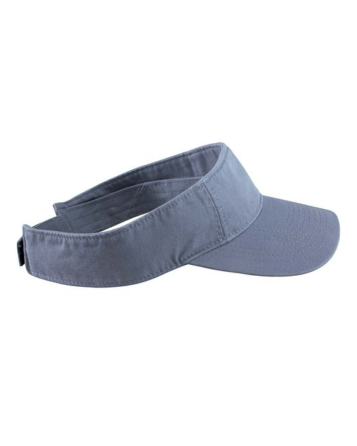 Authentic Pigment Direct-Dyed Twill Visor - Bluegrass