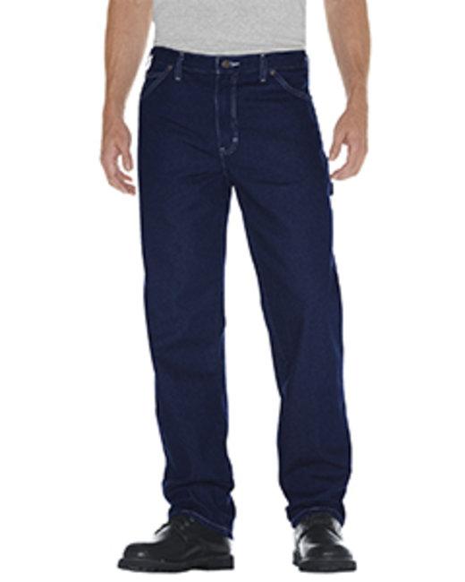Dickies Unisex Relaxed Straight Fit Carpenter Denim Jean Pant - Indigo Blue  30