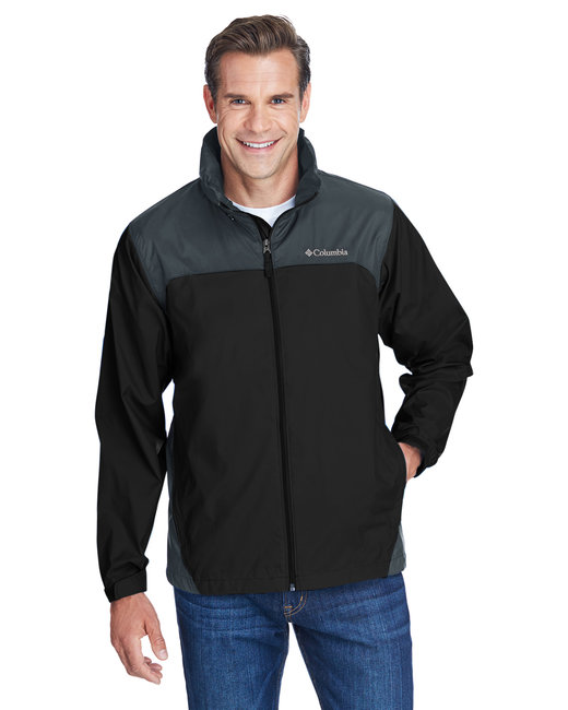 Columbia Men's Glennaker Lake™ Rain Jacket - Black/ Grill