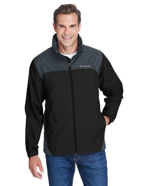 Columbia Men's Glennaker Lake� Rain Jacket - Black/ Grill