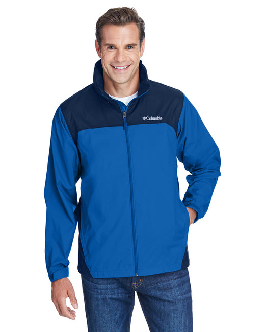 Columbia Men's Glennaker Lake� Rain Jacket - Blue Jay/ Navy