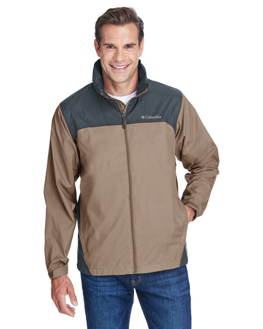 Columbia Men's Glennaker Lake™ Rain Jacket - Tusk/ Grill