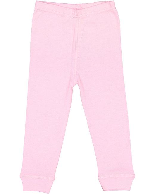 Rabbit Skins Toddler Baby Rib Pajama Pant - Pink
